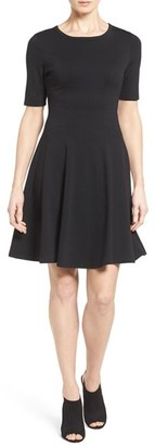 Women's Karen Kane 'Michelle' Short Sleeve Fit & Flare Dress $128 thestylecure.com