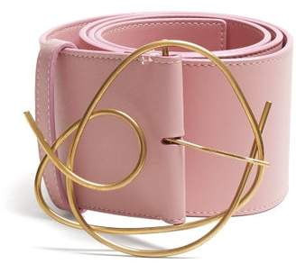 Roksanda Leather Belt - Womens - Pink
