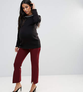 Asos Tailored Vent Front Kick Flare Pant
