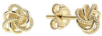 Women's Lagos 'Love Knot' Stud Earrings $450 thestylecure.com