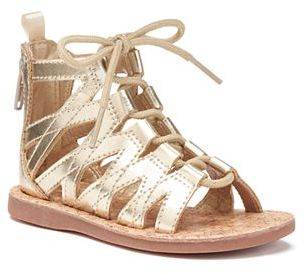 OshKosh B'gosh® Priya 2 Toddler Girls' Gladiator Sandals $34.99 thestylecure.com