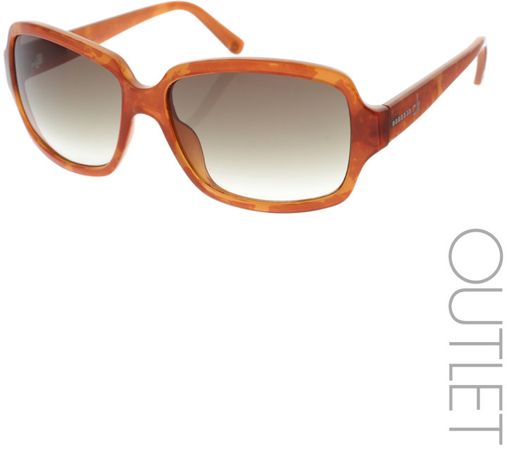 CK By Calvin Klein Oversized Square Sunglasses