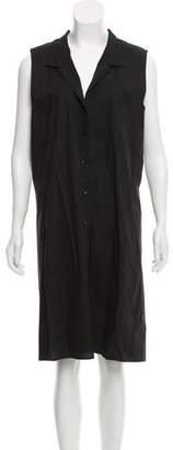 Veda Sleeveless Shirt Dress