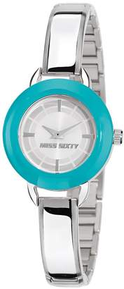 Miss Sixty Women's Roundy 30mm Steel Bracelet & Case Quartz Watch Sih004