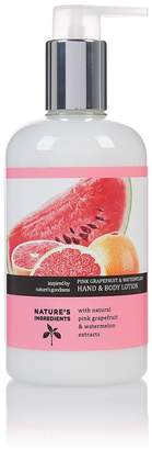 Nature's IngredientsMarks and Spencer Grapefruit Hand & Body Lotion 300ml