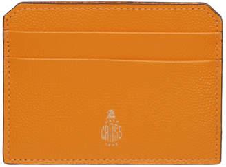 Mark Cross Yellow Card Holder