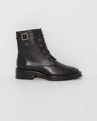 Rachel Comey Black Kidskin Dame Boots