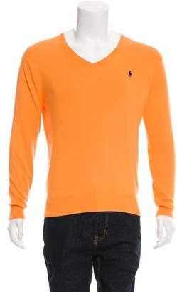 Polo Ralph Lauren Woven V-Neck Sweater