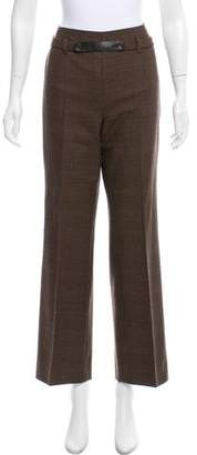 Akris Punto High-Rise Wool Pants