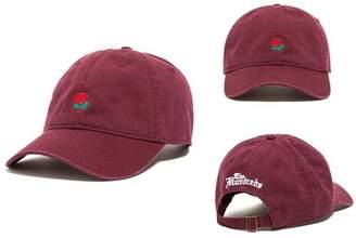 D.E.P.T FIST BUMP Flower Rose Embroidered Baseball Cap Curved Brim Hip Hop Adjustable Hat