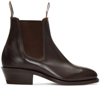 R.M. Williams Brown The Yearling Boots