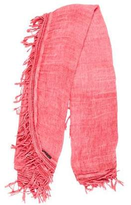 Theory Woven Fringe Scarf