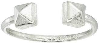 Alex and Ani Pyramid Adjustable Ring - Precious Metal Ring