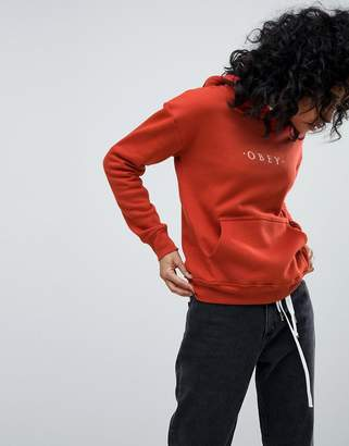 Obey RELAXED Hoodie With Front Logo
