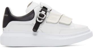 Alexander McQueen White Multi Flap Tab Oversized Sneakers