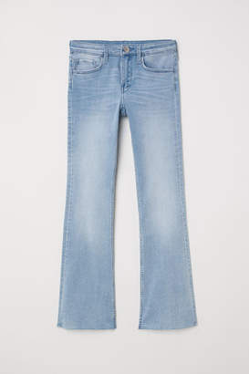 H&M Superstretch Boot cut Jeans - Blue