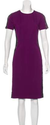 Magaschoni Lace Knee-Length Dress