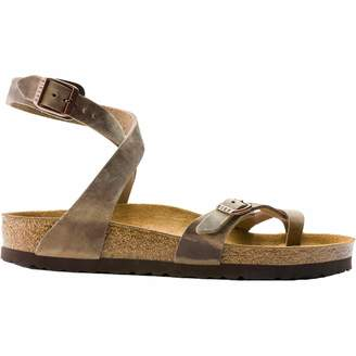 Birkenstock Women's Yara Leather Ankle-Strap Sandal