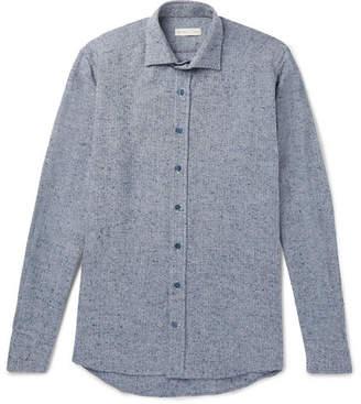 Etro Herringbone Woven Shirt