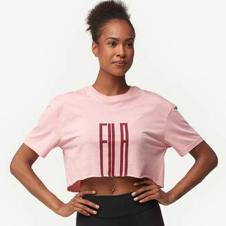 Fila Domenica Crop T-Shirt - Women's
