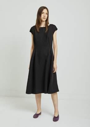 Aspesi Linen A-Line Dress