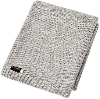 Tweedmill - Knitted Alpaca Throw - Green