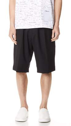 3.1 Phillip Lim Tapered Shorts with Knit Waistband