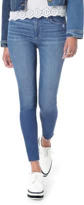 Joe's Jeans Flawless - Honey Curvy High Waist Raw Hem Skinny Jeans