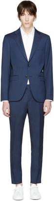 Tiger of Sweden Navy Wool Gekko Suit $880 thestylecure.com
