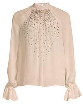 Ramy Brook Camille Embellished Blouse