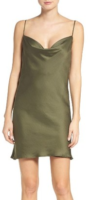 Women's Bardot Cowl Slipdress $79 thestylecure.com