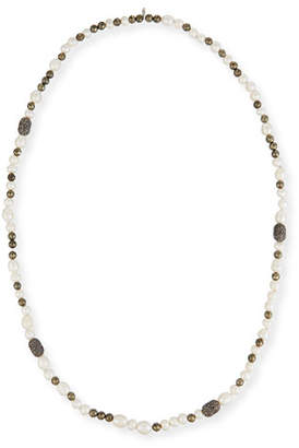 MyChelle Dermaceuticals Hipchik Pearly Bead & Rhinestone Necklace, 43""
