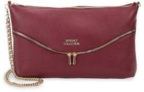 Versace Leather Zip Bag