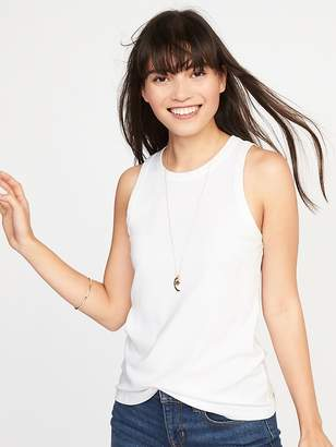 Old Navy Slim-Fit High-Neck Sleeveless Tee for Women