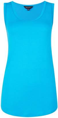 Dorothy Perkins Womens Turquoise Viscose Vest