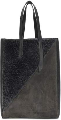 Mr & Mrs Italy contrast tote bag