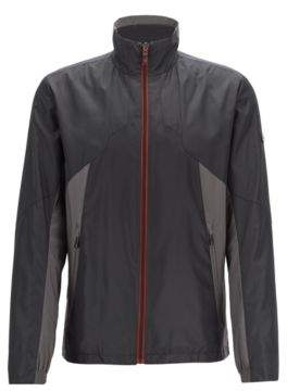 BOSS Hugo Link2 water-repellent jacket in micro-structured dobby fabric L Black
