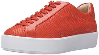 Nine West Women's Valley Leather Fashion Sneaker