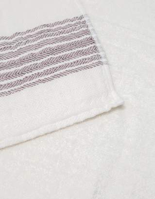 MORIHATA Flax Line Hand Towel