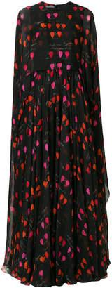 Alexander McQueen petal print gown