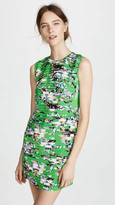 Diane von Furstenberg Cinched Waist Mini Dress