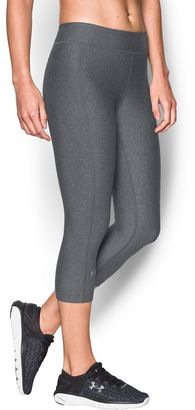 Women's Under Armour HeatGear Armour Solid Capris $34.99 thestylecure.com