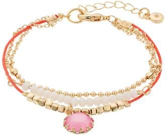 Lauren Conrad Beaded Pendant Bracelet