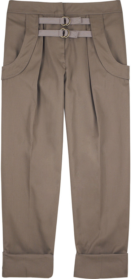 Stella McCartney Baggy jodhpur style pants