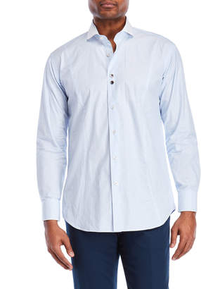 Bogosse Alex Dot & Stripe Sport Shirt