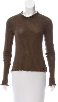 Chanel Cashmere Crew Neck Sweater