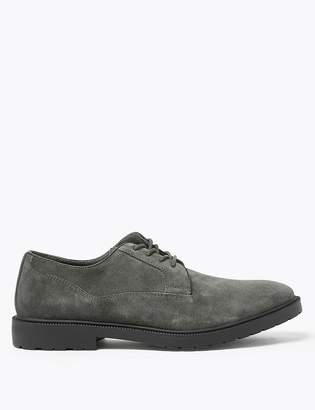 Marks and Spencer Suede Heavyweight Derby Shoes