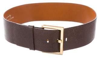 Givenchy Lizard Waist Belt