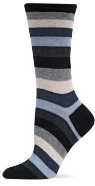 Hot Sox Bold Stripe Crew Socks