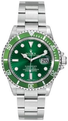 Rolex Submariner 16610 Green Dial 40mm Mens Watch